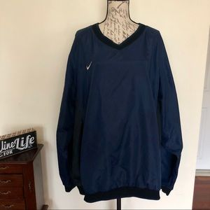 Vintage Nike V Neck Windbreaker Pullover